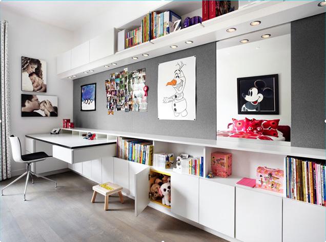 Ideas para crear una zona de estudio para tus hijos for Zona de estudio