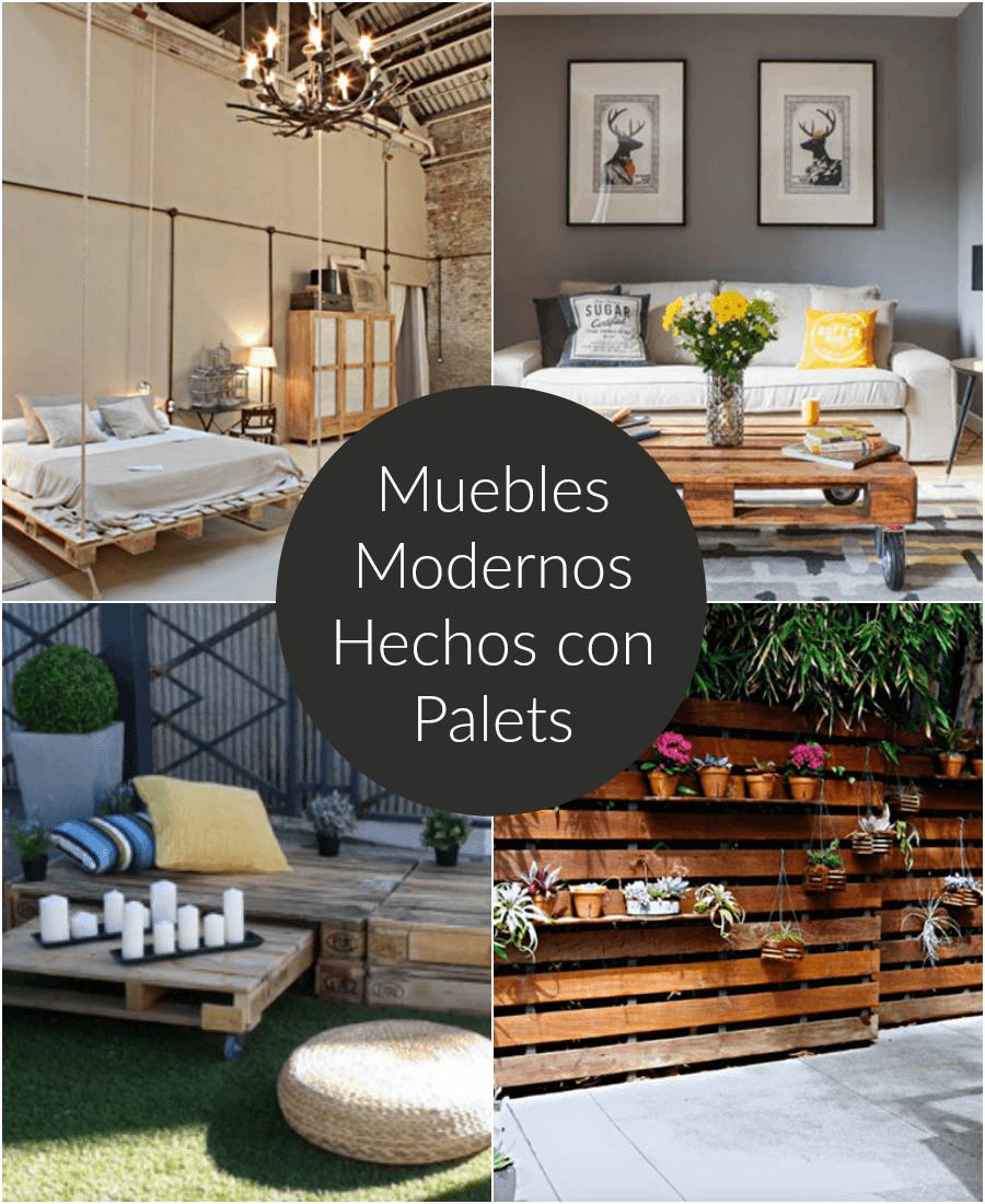 Muebles de terraza hechos con palets fabulous with - Muebles de jardin hechos con palets ...