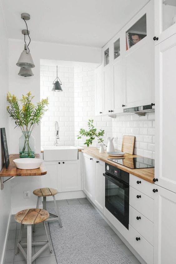10 cocinas pequeñas pero muy bien aprovechadas