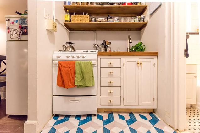 10 cocinas peque as pero muy bien aprovechadas - Cocina con isla pequena ...