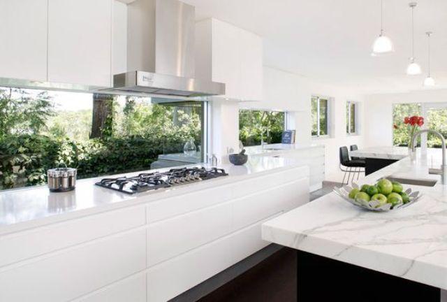 15 ventanas salpicadero de cocina 14 gu a para decorar - Salpicadero cocina ...