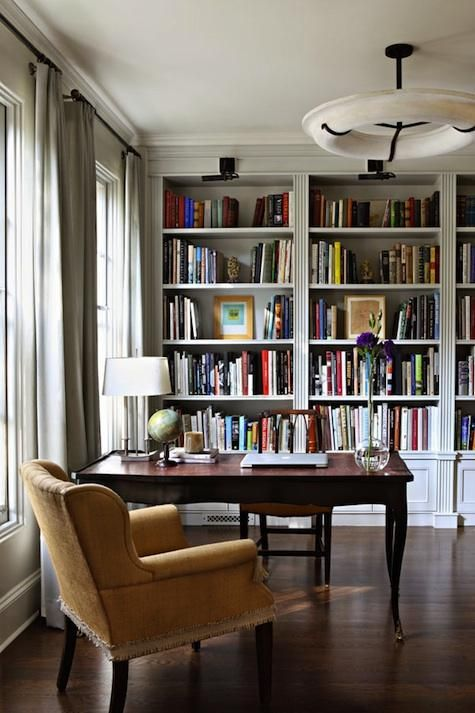 Impresionantes ideas para crear tu biblioteca for Best home library designs
