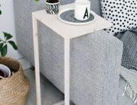 imagen Mesa auxiliar DIY para el sofá