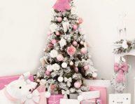 imagen Árboles de Navidad en color rosa ¡muy original!