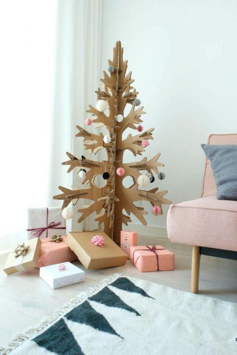 Deco navidad cajas de carton 2 gu a para decorar - Cajas de carton de navidad ...