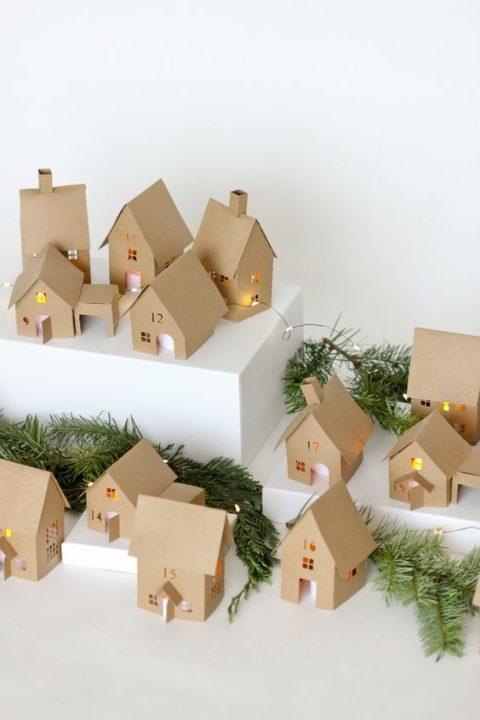 Deco navidad cajas de carton 3 gu a para decorar - Cajas de carton de navidad ...