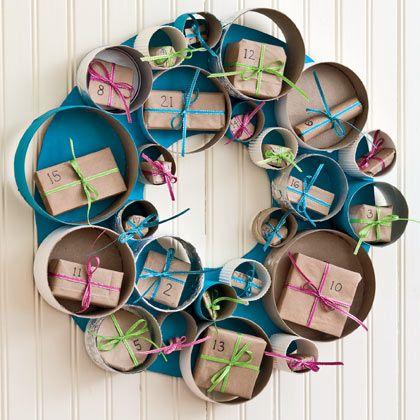 Prepara la decoraci n de navidad reciclando cajas - Cajas de carton de navidad ...