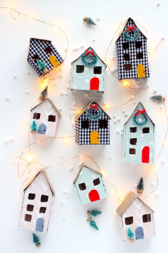 Deco navidad cajas de carton 5 gu a para decorar - Cajas de carton de navidad ...