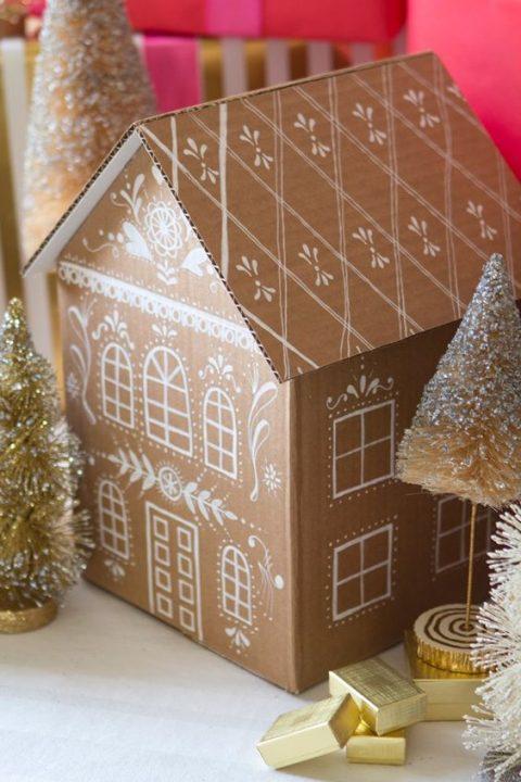 Deco navidad cajas de carton 6 gu a para decorar - Cajas de carton de navidad ...