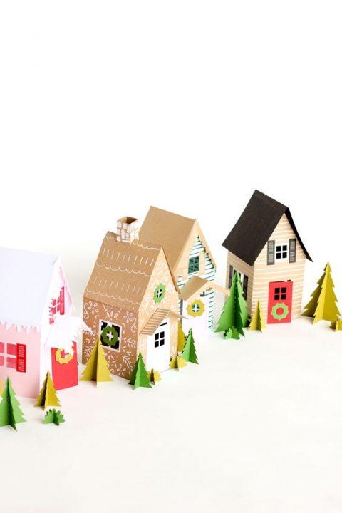 Deco navidad cajas de carton 7 gu a para decorar - Cajas de carton de navidad ...