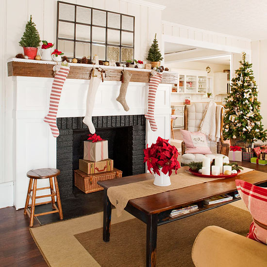 Decora Tu Living Para La Navidad Con Estas Ideas Deco