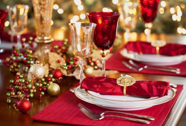 5 ideas para decorar tu mesa de Navidad