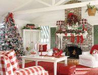 imagen Una navidad más tradicional en rojo, azul y blanco