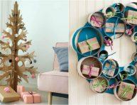 imagen Prepara la decoración de Navidad reciclando cajas