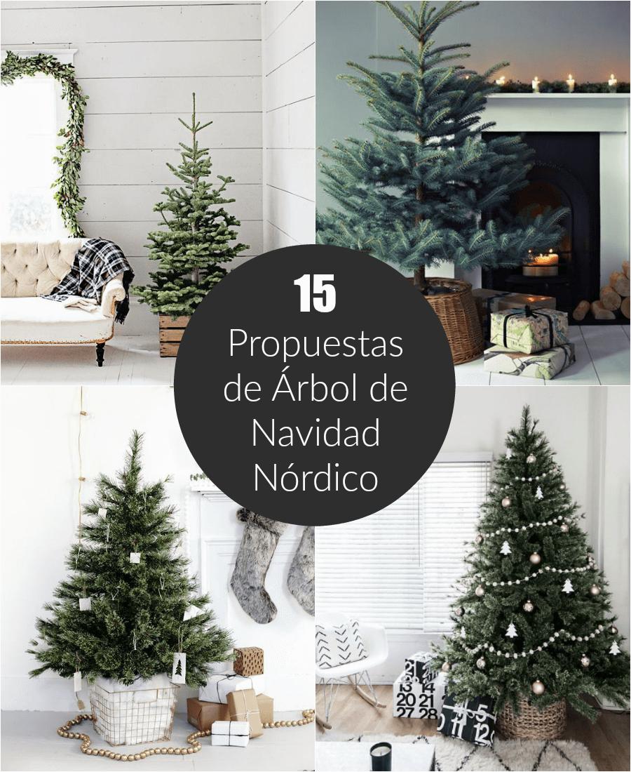 15 propuestas para tener un rbol de navidad n rdico - Arbol de navidad elegante ...