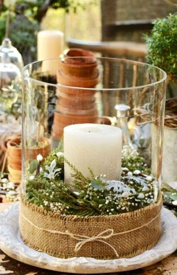 Ideas Para Decorar Con Velas En Navidad - Ideas-para-decorar-velas