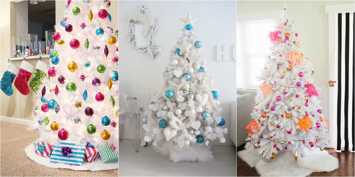 Ideas para decorar un rbol de navidad blanco - Ideas para decorar un arbol de navidad ...