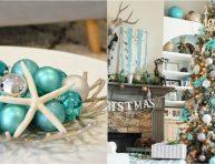 imagen Decora tu hogar por Navidad en color turquesa