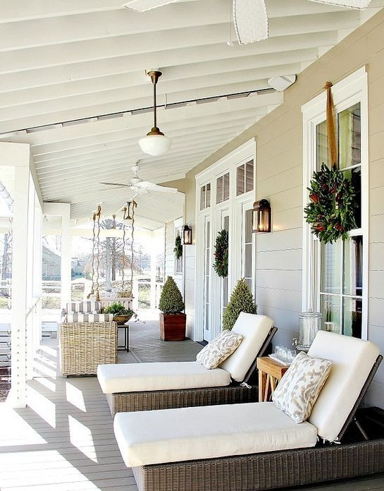 Patio porche jardin 9 gu a para decorar - Decorar pared porche ...
