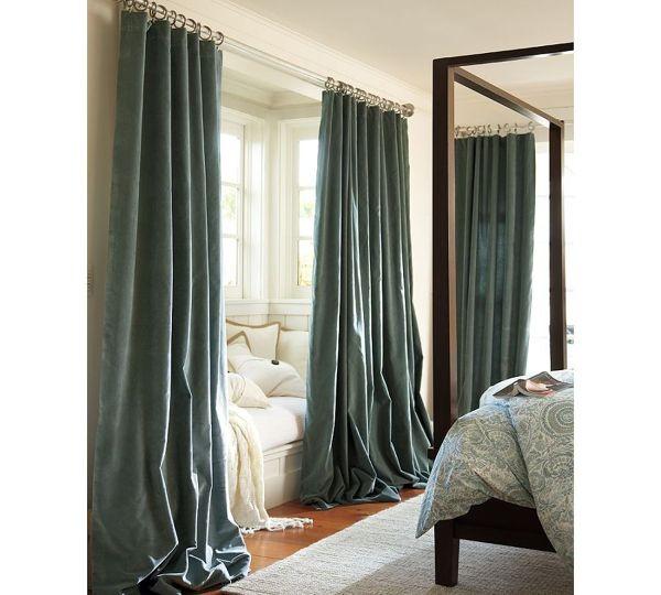 Cortinas y canap s esenciales en la decoraci n de interiores - Que cortinas se llevan ...