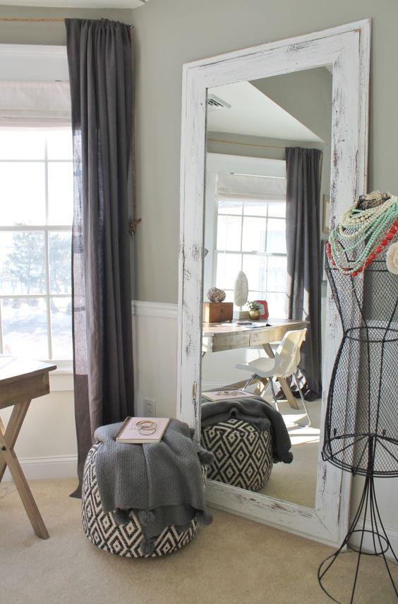 Decora tu hogar con espejos hasta el piso for Decoracion de dormitorios con espejos