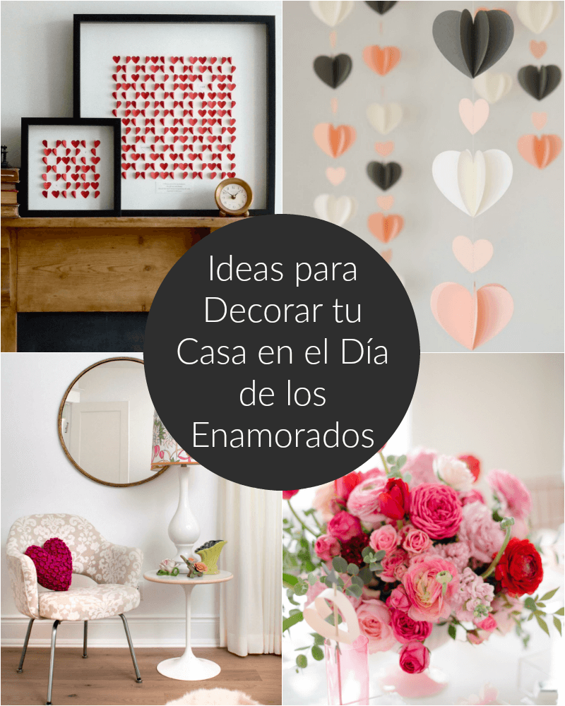 Ideas para decorar tu casa en el d a de los enamorados - Ideas para decorar una pared ...