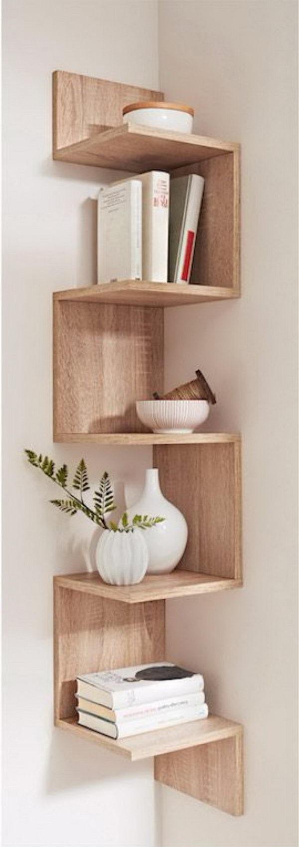 Estantes esquineros que puedes hacer tu mismo for Esquineros de madera para cocina