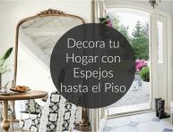 imagen Decora tu hogar con espejos hasta el piso