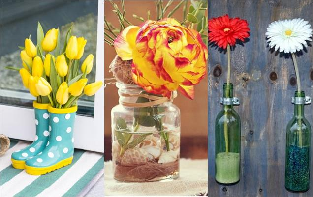 ideas creativas para decorar tu hogar con flores