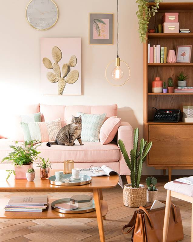Qu colores y materiales elegir para decorar el hogar con - Decorar estilo nordico ...