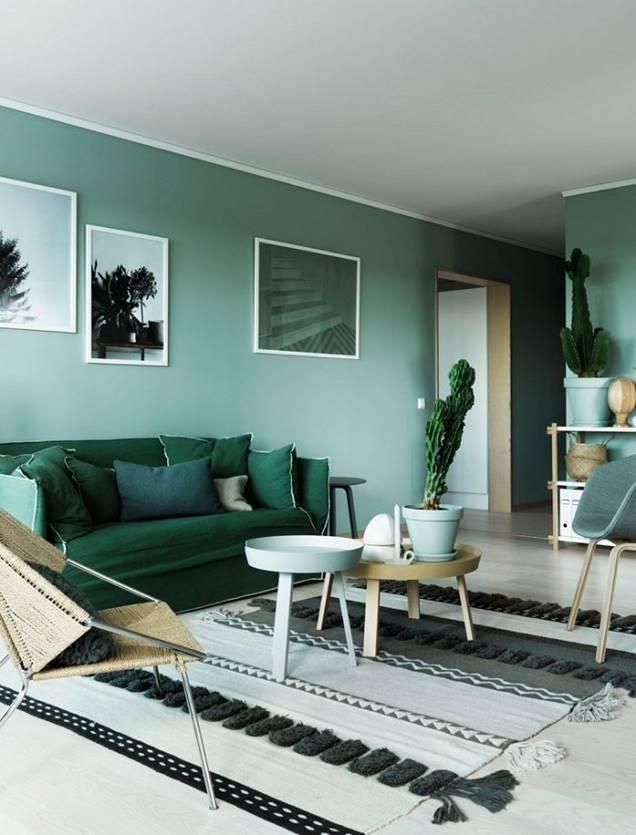 Qu colores y materiales elegir para decorar el hogar con for Colores para el hogar