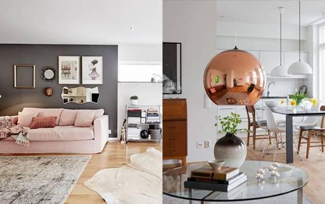 qu colores y materiales elegir para decorar el hogar con
