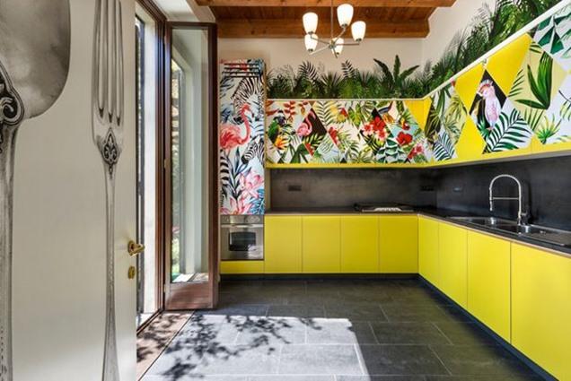 8 habitaciones en color amarillo que te conquistar n for Modernizar puertas interior