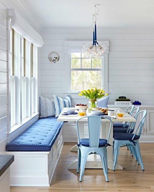 Turquoise Blue White Beach Theme Kitchen: Tendencias En Menaje De Hogar Para 2018