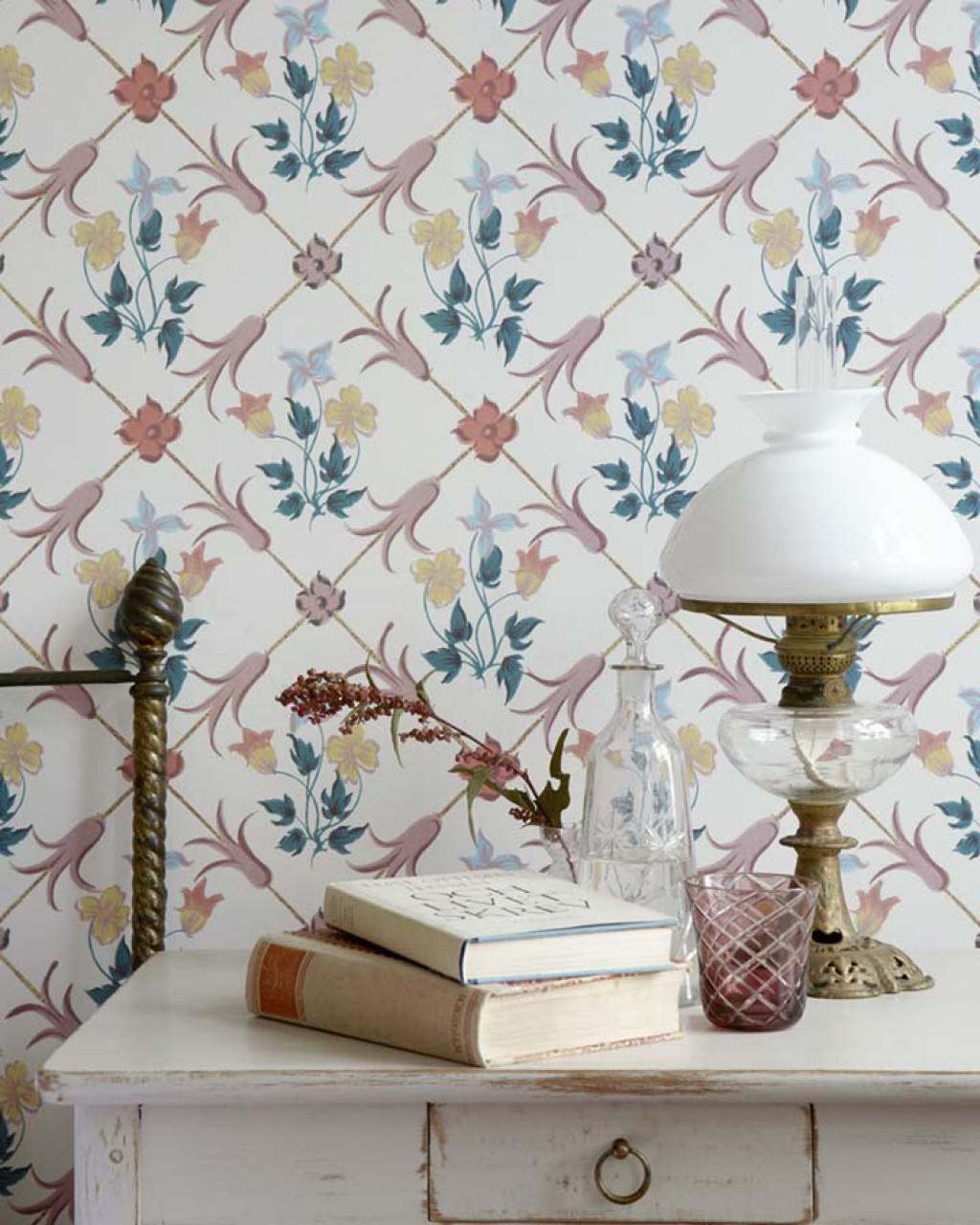 C mo renovar tu hogar con papel pintado y que sea maravilloso - Papel pintado anos 60 ...