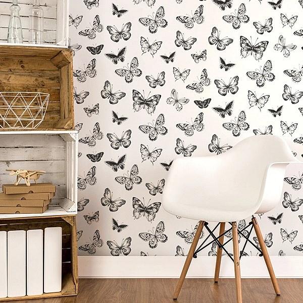 Renueva tu casa con poco dinero vinilos y papel pintado - Papel pintado y vinilo ...