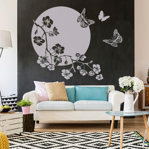 Renueva tu casa con poco dinero vinilos y papel pintado - Papel pintado vinilo ...