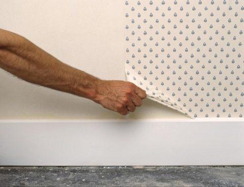 Como quitar el papel pintado sin complicaciones gu a - Quitar papel pared ...