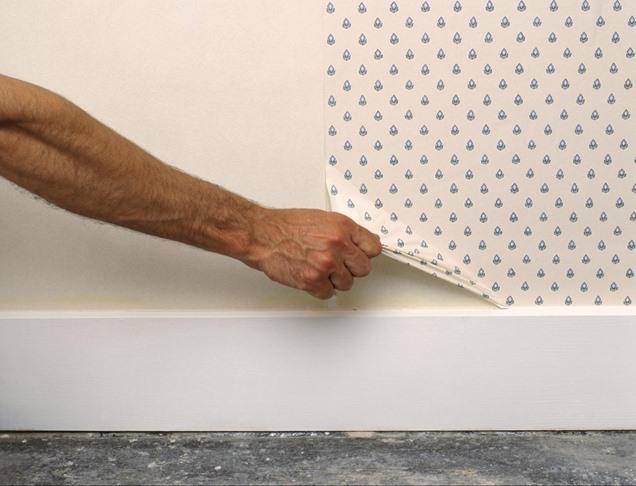 Consejos para quitar el papel pintado sin complicaciones for Como quitar papel mural