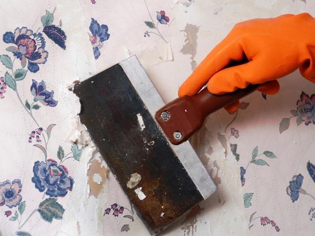 Cómo quitar el papel pintado sin complicaciones