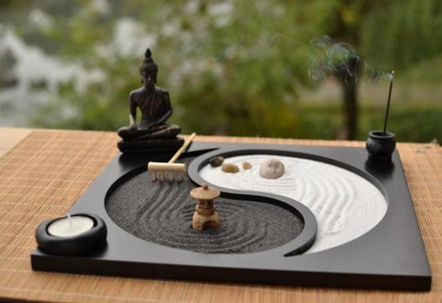 Conoce estos consejos para crear un estilo zen en tu hogar - Arena jardin zen ...