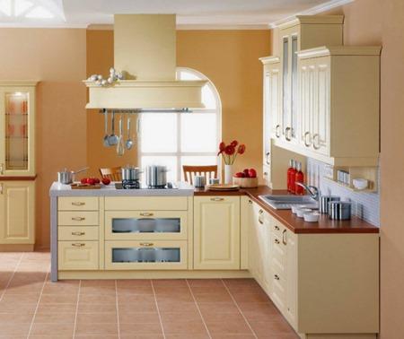 Decora y endulza tu cocina con colores pasteles for Pinturas de cocinas modernas