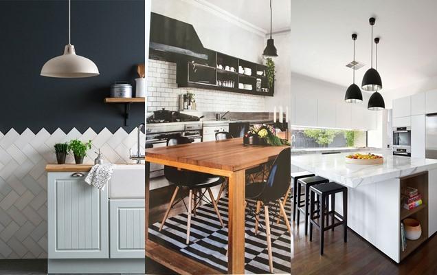 Ap ntate al cl sico fotos e ideas de cocinas en blanco y for Elemento de cocina negro