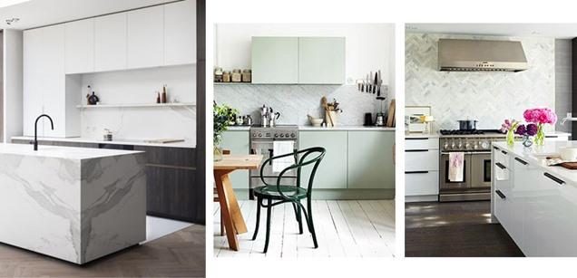 Opciones antisalpicaduras para los frentes de cocina - Paneles para cocinas ...