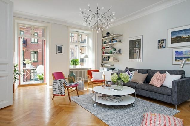 6 ideas esenciales para que la sala de estar sea funcional for Idea sala de estar cuadrada