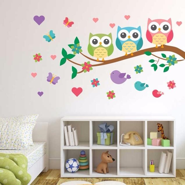 Tipos de vinilos para la pared y consejos para aplicarlo Vinilos de pared infantiles