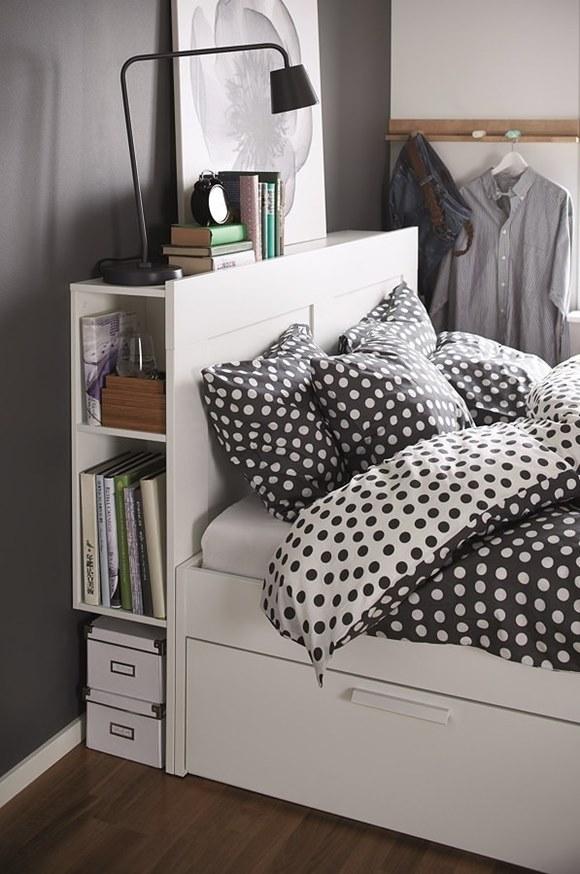 Excelentes ideas para ganar almacenaje en el dormitorio - Camas con almacenaje ikea ...