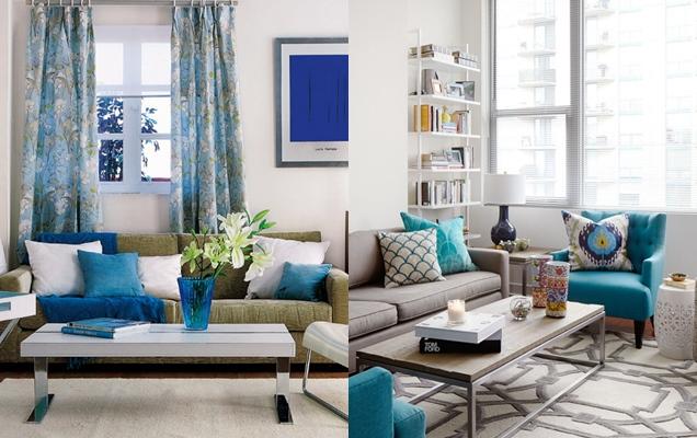 Colores para decorar el salón