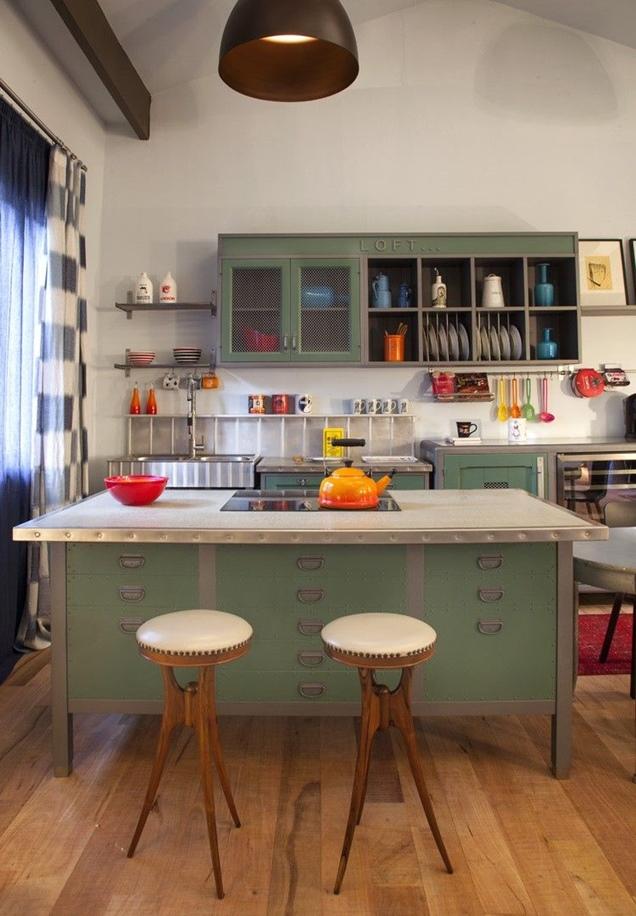 Banquetas para la cocina 20 modelos para inspirarse - Banquetas para cocina ...