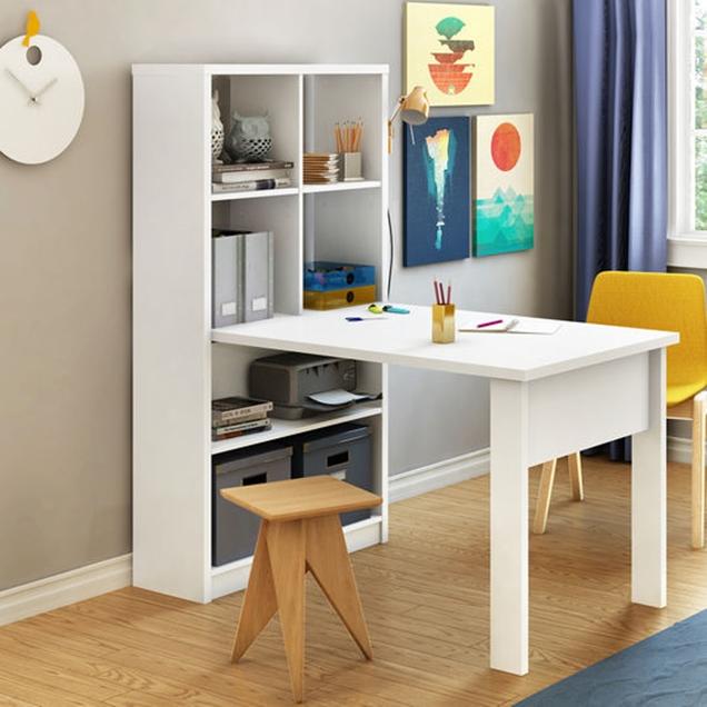 Escritorios plegables para ahorrar espacio - Mesas plegables de pared ...